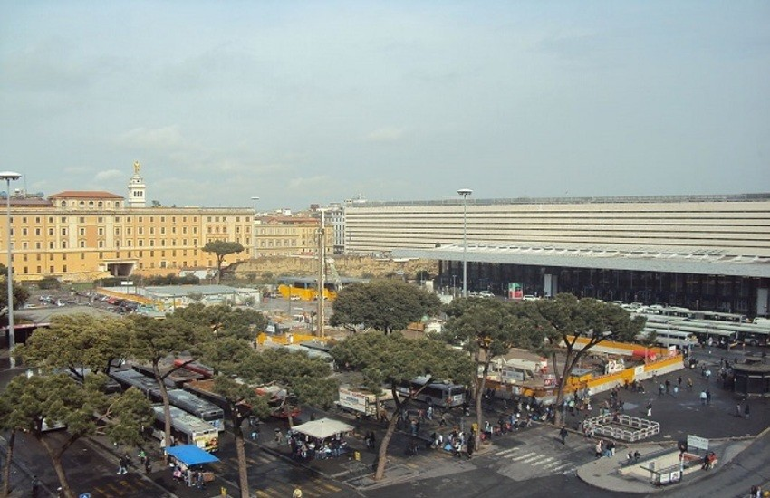 Stazione Termini, al via concorso riqualificazione Piazza dei Cinquecento