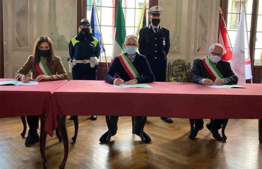 NASCE IL SERVIZIO ASSOCIATO DISTRETTUALE DI POLIZIA LOCALE DELL'ASOLANO