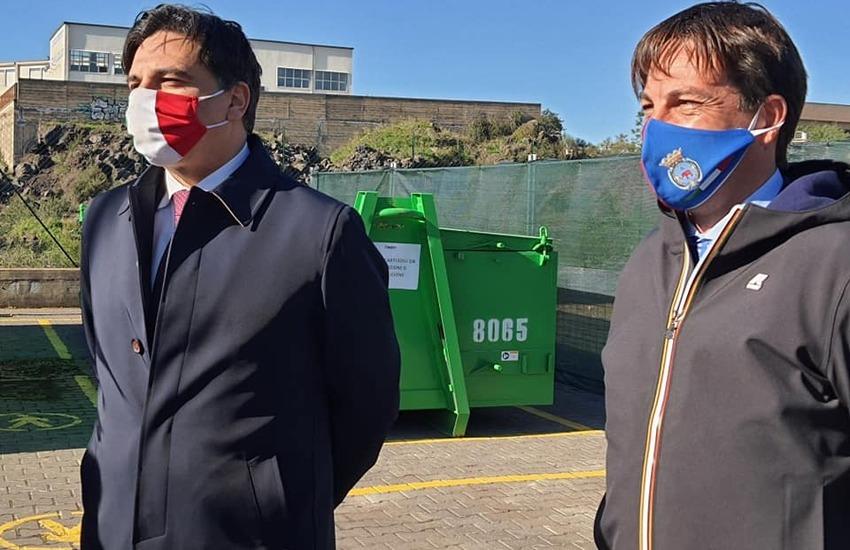 Catania, rifiuti, il sito di via Generale Ameglio rinasce e diventa punto ritiro Ecomobile