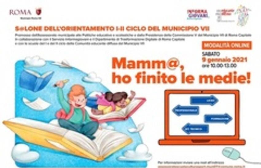 """Roma, """"M@mma, ho finito le medie!"""", appuntamento per le terze classi della Comunità Educante Diffusa"""