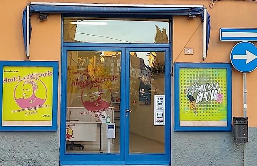 """Pronta la sede dell'associazione """"Amici di Vittorio #missioneambiente"""""""