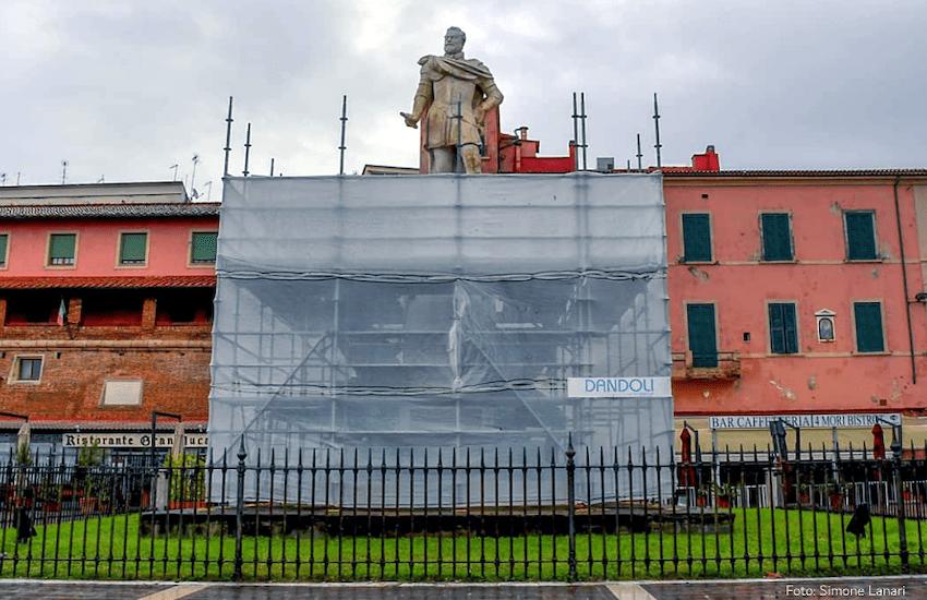 4 Mori: al via i lavori di restauro conservativo