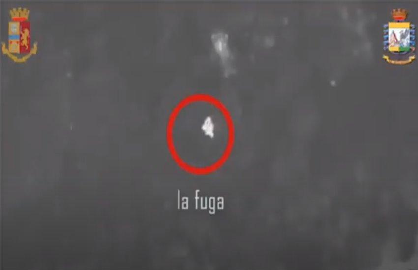 Arresto del latitante Di Martino, le riprese aeree della cattura con i droni