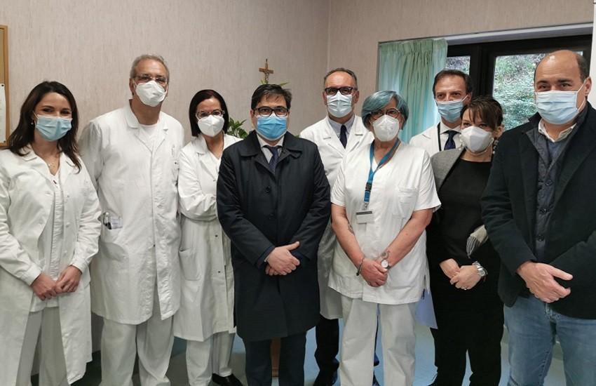 """Coronavirus, D'Amato: """"iniziate in sicurezza prime vaccinazioni a Viterbo"""""""