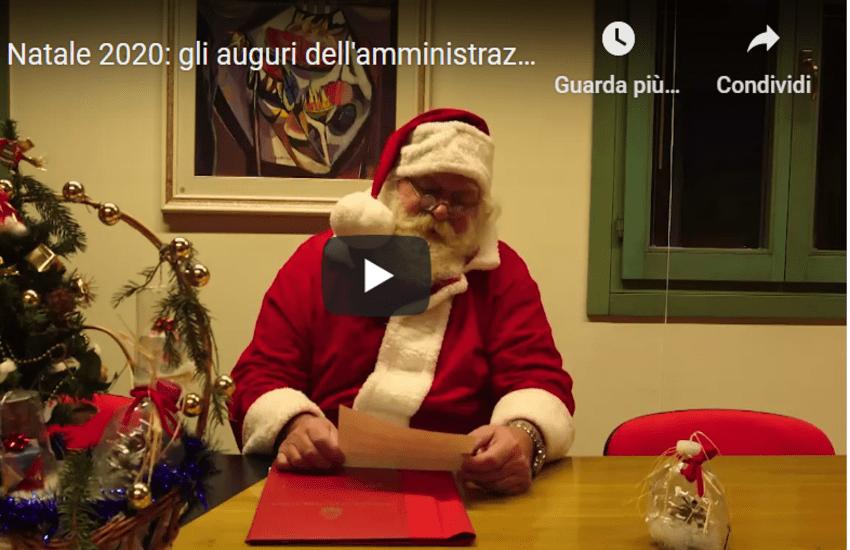 Montebbeluna, Babbo Natale entra nelle classi con un video di auguri