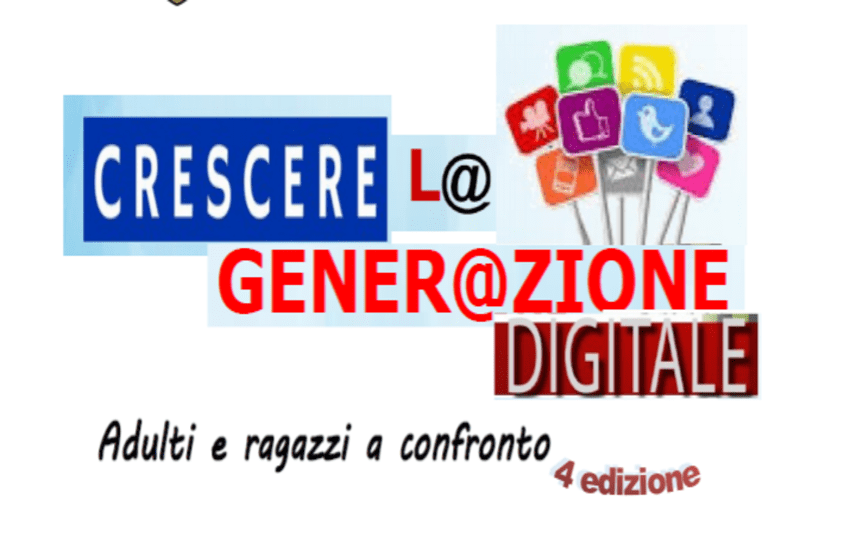 """Riparte """"Crescere l@ gener@zione digitale"""""""