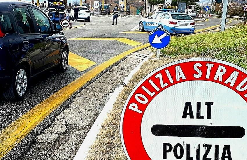 Sicurezza stradale e rispetto norme anti-Covid per le Festività natalizie: la Polizia Stradale tra i cittadini, per viaggiare in tranquillità
