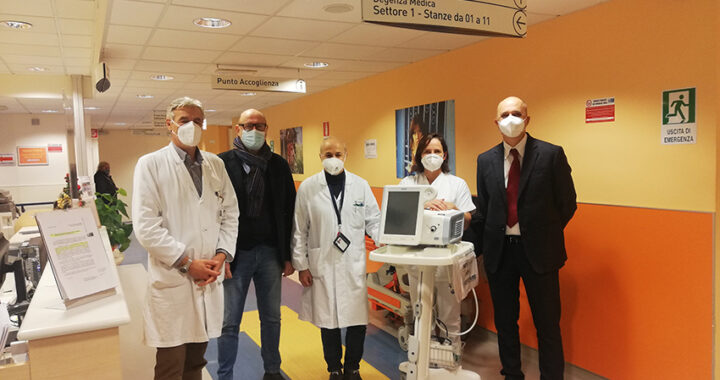 Cinque ventilatori polmonari donati al Santo Stefano grazie a 38mila euro della Fondazione Ami
