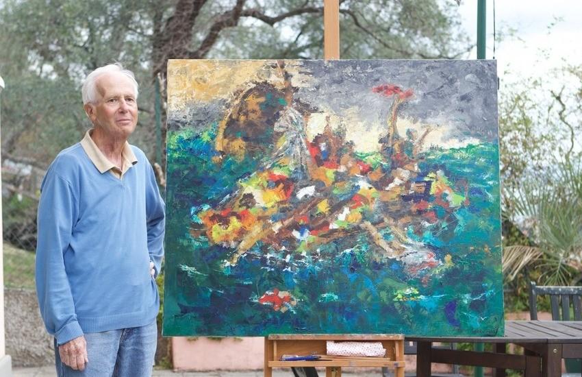 Santa Margherita Ligure in lacrime, è morto l'artista e insegnante Sergio Antola