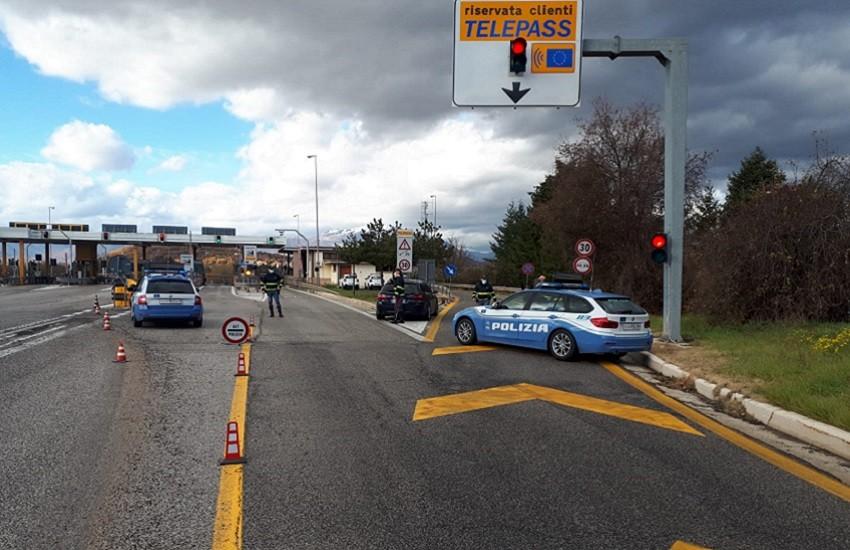Polizia di Stato: zona arancione per l'Abruzzo, ma i controlli non si allentano
