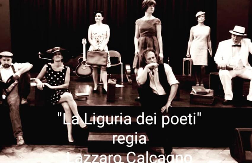 """Arenzano, Teatro Sipario Strappato: sabato in scena lo streaming con """"La Liguria dei Poeti"""""""