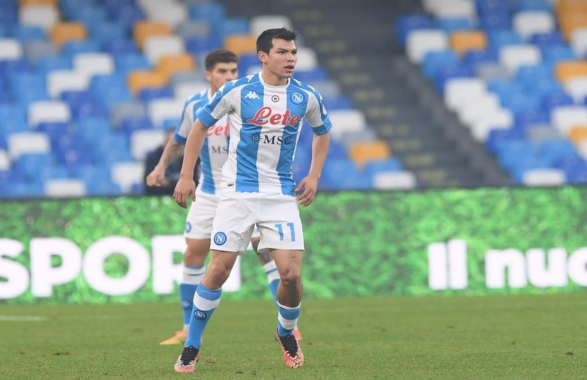 Napoli-Sampdoria 2-1. Azzurri sotto, poi Lozano e Petagna la ribaltano