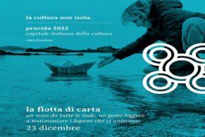 Una flotta di barchette di carta per sostenere la candidatura di Procida come Capitale italiana della cultura