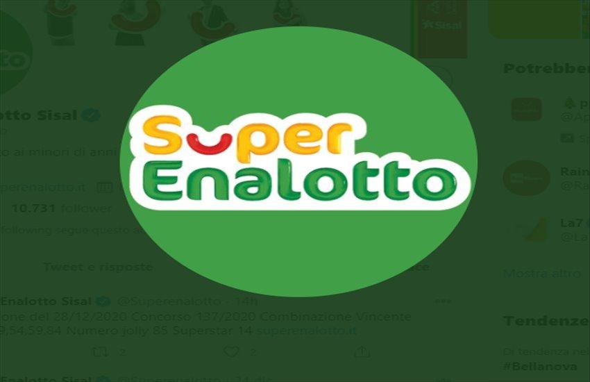 Superenalotto, centrato il 5 da oltre 50.000 euro a Nocera