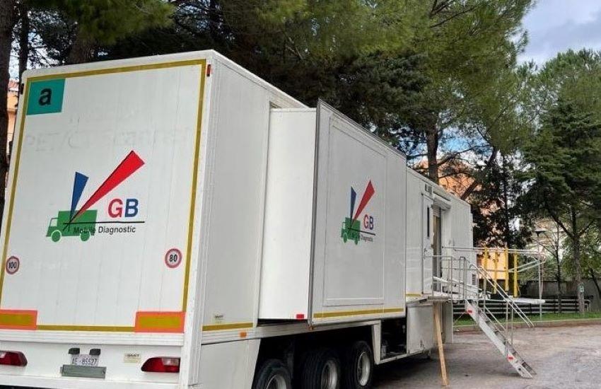 Asp Palermo, da lunedì in funzione una TAC mobile all'Ospedale di Partinico