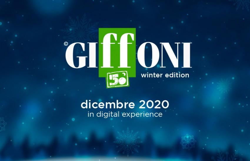 #Giffoni50 Winter Edition: la digital experience per accendere la speranza dal 12