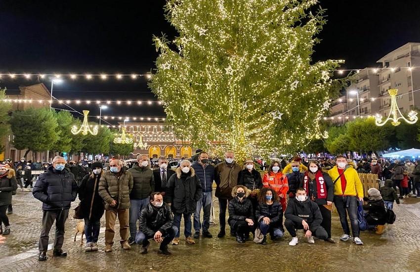 Civitanova, il Natale è illuminato. Gli Auguri del sindaco Ciarapica