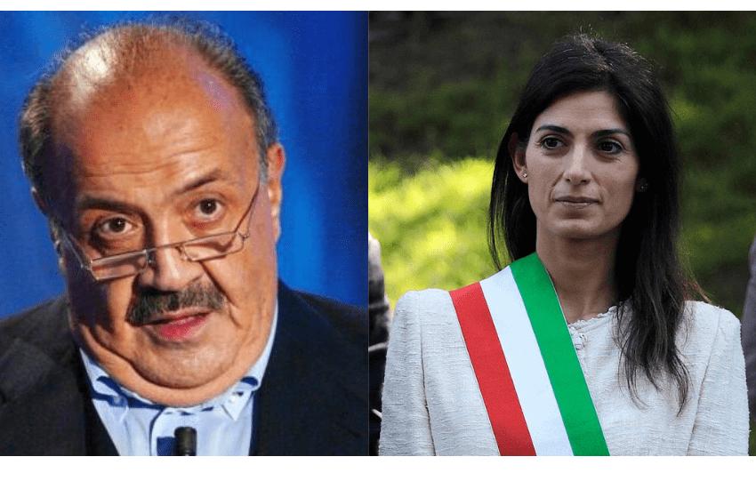 """Roma, la strana coppia, Maurizio Costanzo """"suggeritore"""" di Virginia Raggi"""