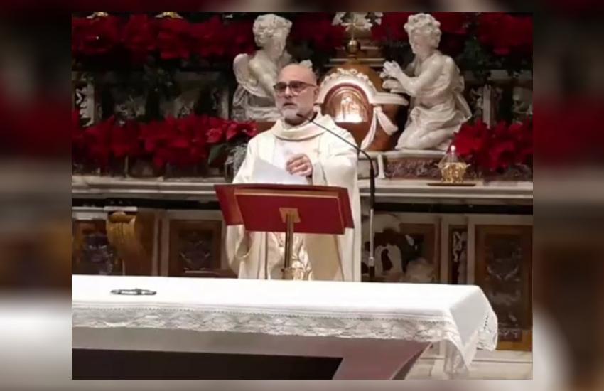 Don Carmine Santoro lascia Santa Maria Maggiore per un nuovo incarico