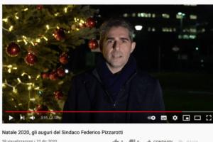 Natale 2020 Parma: gli auguri del sindaco Pizzarotti