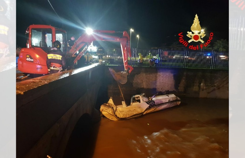 Gaeta, il torrente Pontone fa paura. Il sindaco ordina l'evacuazione