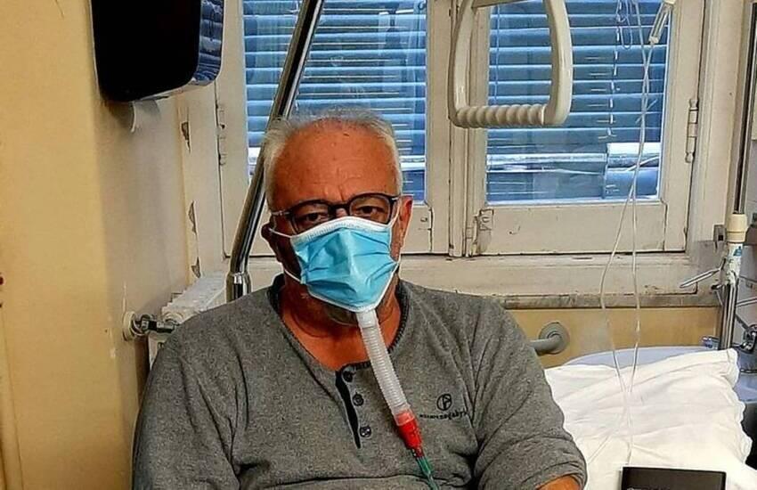 """Genova, il consigliere Gianni Crivello ricoverato per covid: """"Qua non ho sentito parlare di settimane bianche e cenoni"""""""