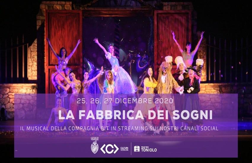 Natale in streaming dal Teatro Toniolo
