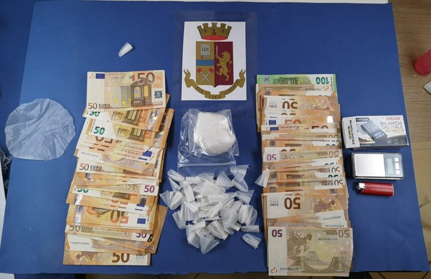 Polizia di Stato: arrestati per spaccio di stupefacenti quattro giovani stranieri