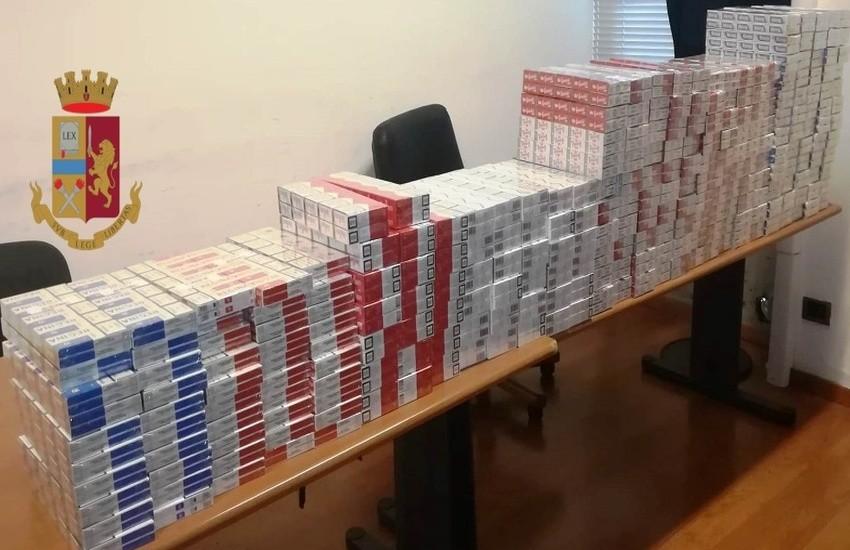 Catania, sequestrati oltre 70 kg di tabacco e sigarette di contrabbando