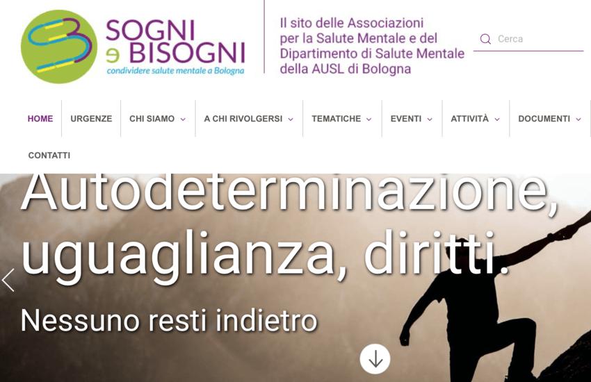 Sogni&Bisogni, la Salute Mentale a Bologna è online