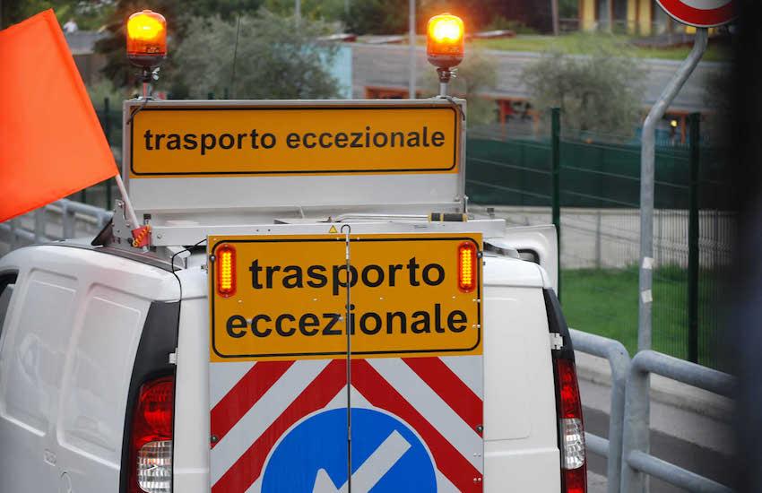 Geodetica chiusa per trasporto eccezionale: ecco i giorni