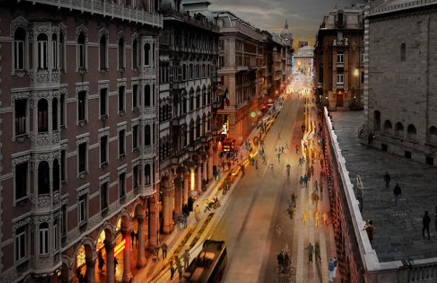 Covid Genova: la via dello shopping diventa pedonale nel weekend. Ecco le variazioni di percorso delle linee bus Amt previste