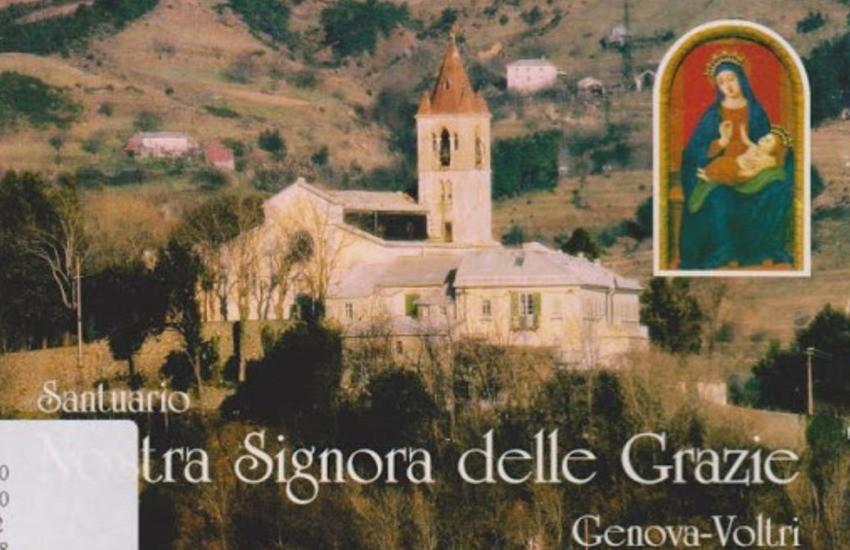 Voltri, incendio al tetto del Santuario delle Grazie: evacuate cinque suore