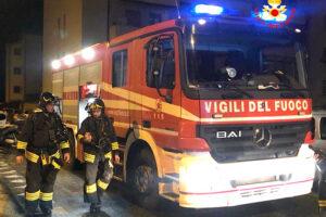 Incendio in via Bellini: una vittima