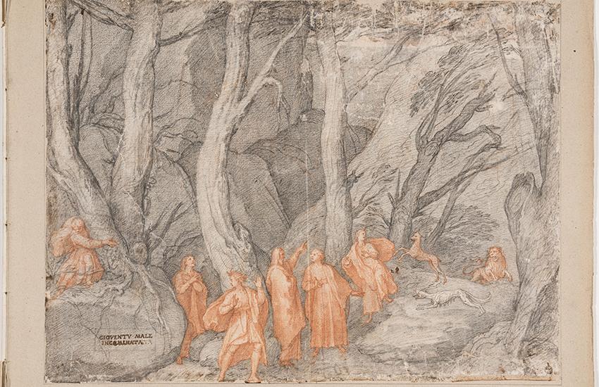 Agli Uffizi mostra virtuale su Dante Alighieri e la Divina Commedia con 88 tavole di Federico Zuccari. Il video