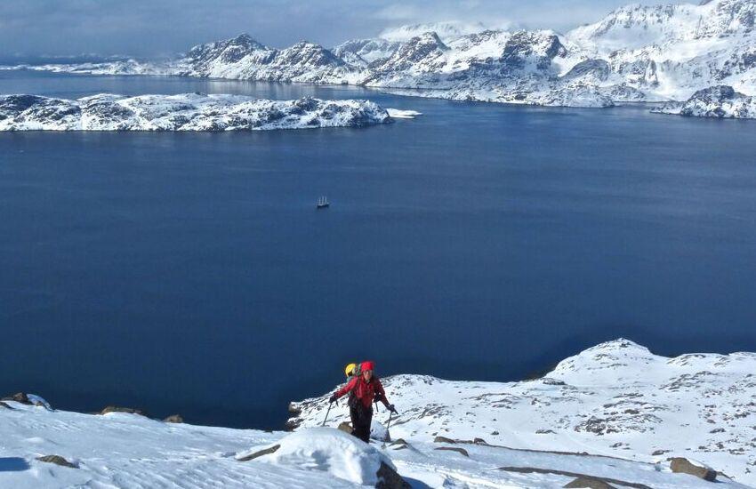 Kalallit Nunaat. Navigabondando tra i fiordi…con gli sci dalla spiaggia: online mercoledì