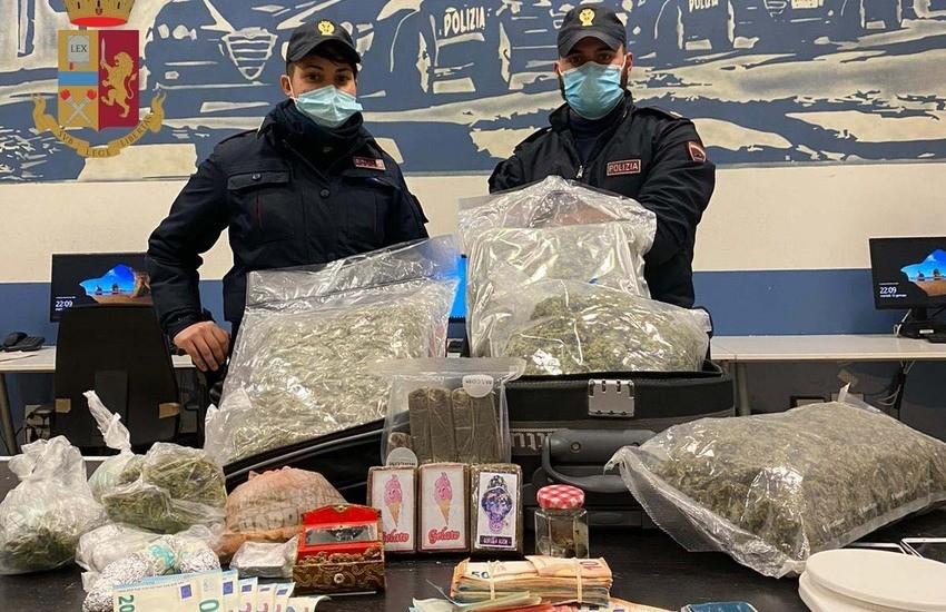Milano, dai messaggi sul cellulare a oltre 5 chili di droga: la Polizia di Stato arresta un uomo di 50 anni e denuncia un 20enne