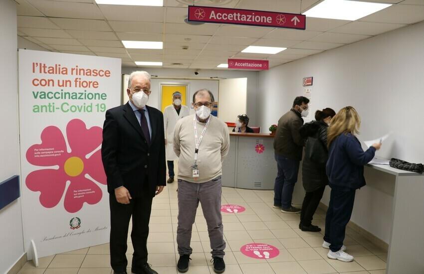 """Cannizzaro, nuovi ambulatori vaccinali, """"Campagna in sicurezza"""""""