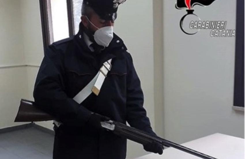 Randazzo, scovato e sequestrato un fucile con la matricola abrasa