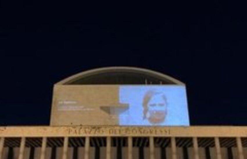 Roma, giorno della Memoria, videoinstallazione a Palazzo dei Congressi per le vittime dell'Olocausto