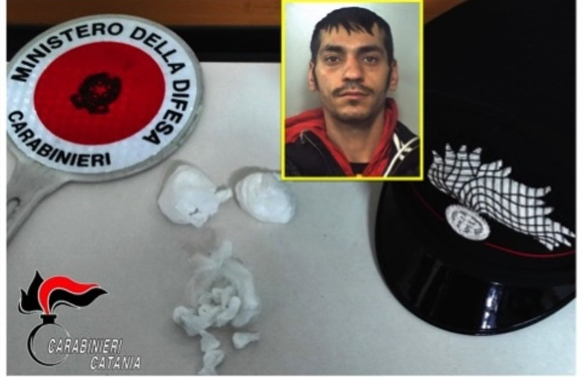 Via Galermo, arrestato mentre andava a rifornire di cocaina il pusher