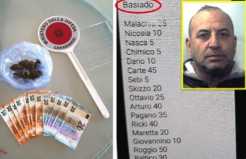 """Gravina di Catania, spacciava """"o baseado"""" sotto casa. Arrestato"""