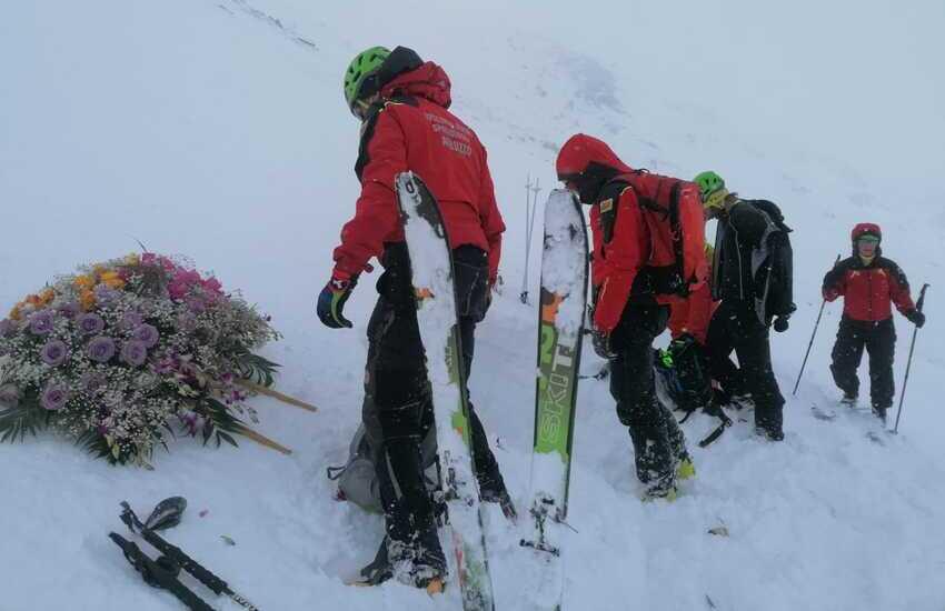 Monte Cefalone: esercitazione in memoria dei 5 caduti