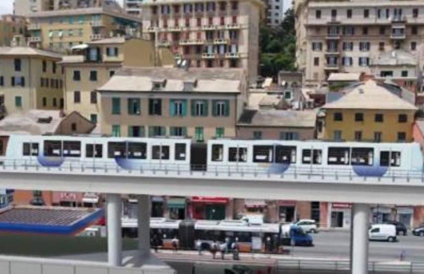 Genova: ecco il progetto dello Skytram  per la città