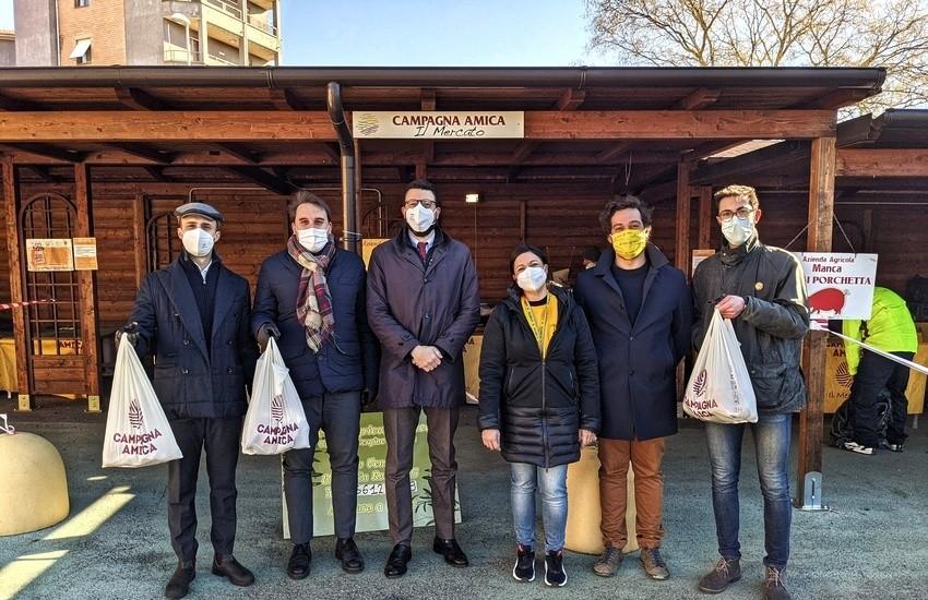Forza Italia consegna beni di prima necessità alla Caritas diocesana di Viterbo