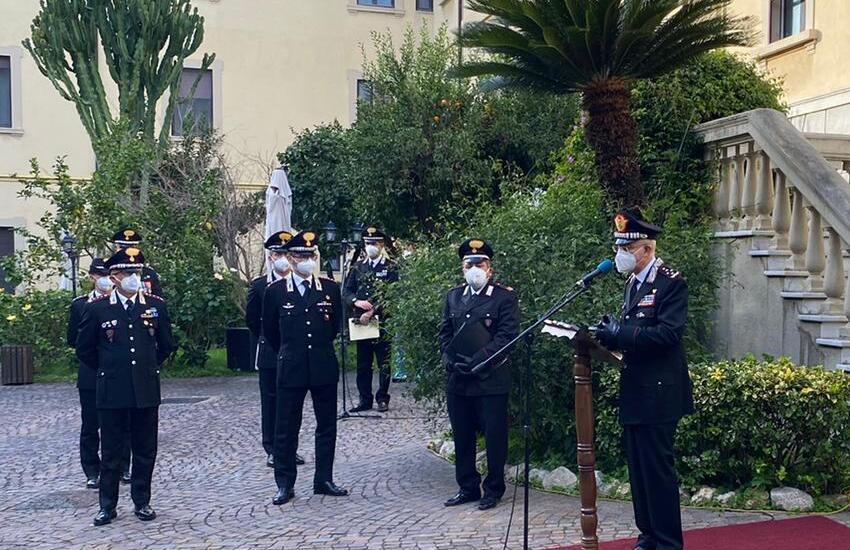 """Caserma """"Bonsignore"""" di Messina, il generale Cavallo nuovo comandante interregionale dei Carabinieri"""