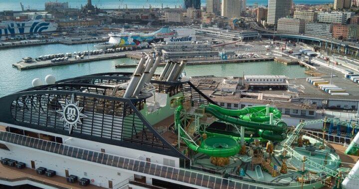 MSC Grandiosa ha ripreso il mare: le crociere ripartono da Genova