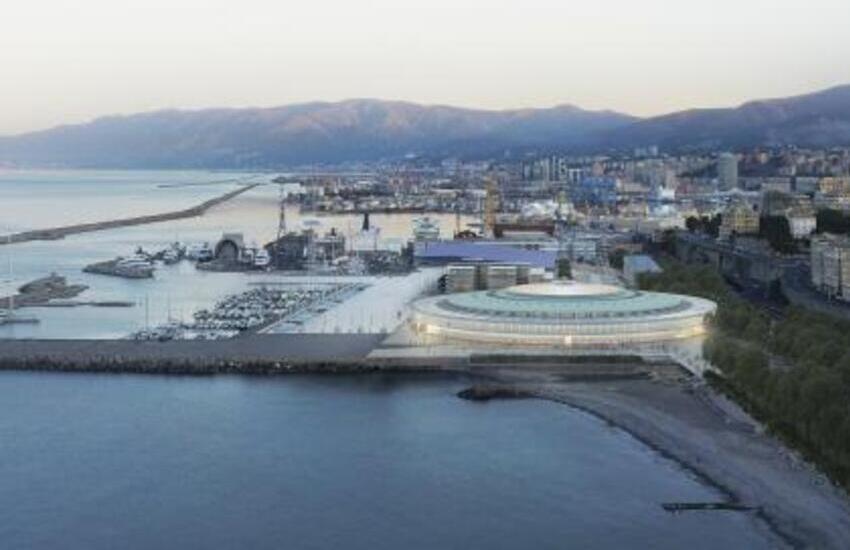 Genova, al via i cantieri del Palasport per nuovo Waterfront