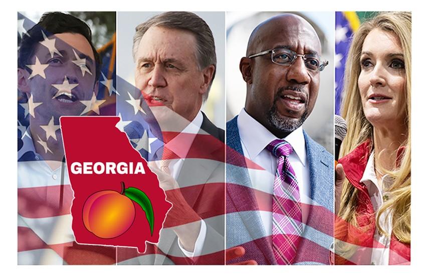 USA2020 – Georgia, Ballottaggio per il Senato: Warnock vincitore su Loeffler. Sfida Ossoff-Perdue ancora aperta.