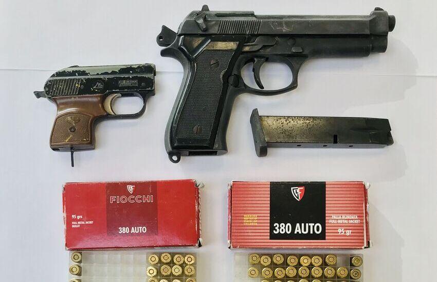 Deteneva pistola con matricola abrasa, arrestato 36enne di Mestre